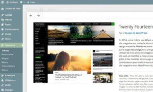Présentation des thèmes avec WordPress 3.8