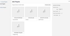 Création de PlayList audio ou vidéo