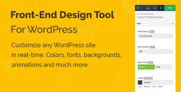 Yellow Pencil pour WordPress