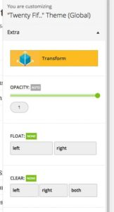 Yellow Pencil - Fonction transform CSS3