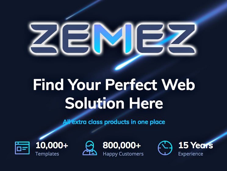 Zemez - Jet family for Elementor